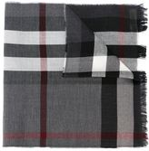 Burberry woven check scarf - men - Cashmere/Merino - One Size