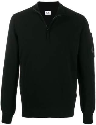 C.P. Company lens decal zip jumper