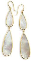 Ippolita 18K Rock Candy Double-Drop Mother-of-Pearl Earrings