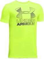 Under Armour Boys' Big Logo Hybrid 2.0 Tee