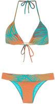BRIGITTE printed triangle bikini set - women - Polyamide/Spandex/Elastane - PP