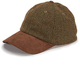 Daniel Cremieux Wool Plaid Baseball Cap