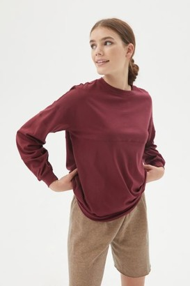 Urban Renewal Vintage Eco-Knit Slouchy Long Sleeve Tee