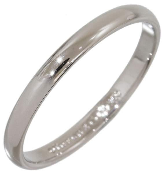Tiffany & Co. Platinum Wedding Band Ring Size 6.5