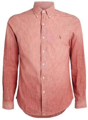 Ralph Lauren Slim-Fit Chambray Shirt