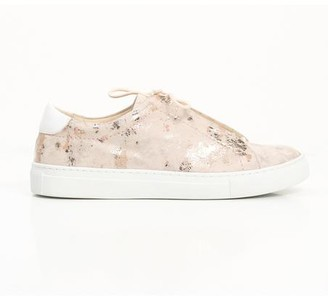Cara Vixen Metallic Sneaker Rose Foil - 38