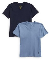 Ralph Lauren Boy's 2-Pack V-Neck T-Shirts