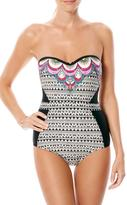 Laundry by Shelli Segal Bandeau One Piece