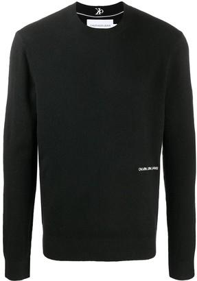 Calvin Klein Jeans Logo-Print Jumper