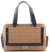 Jimmy Choo Tan Leather Catherine Satchel Handbag BP4322 MHL
