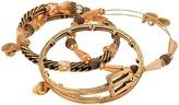 Alex and Ani Trident Metal Wrap Bracelet Set of 3