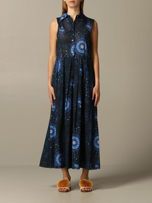 DEPARTMENT 5 Dress Long Dress With Tie Dye Print