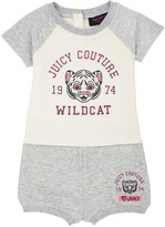 Juicy Couture Baby Fashion Track Graphic Colorblock Pullover Set