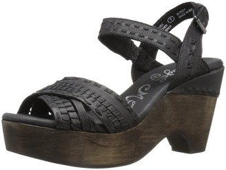Naughty Monkey Women's Calla Wedge Sandal