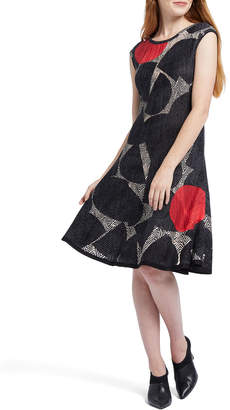 Nic+Zoe Be Bold Printed Sleeveless Dress