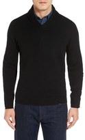 Nordstrom Shawl Collar Cashmere Pullover (Regular & Tall)
