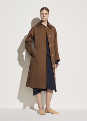 Vince Textured Overcoat
