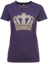 Juicy Couture Logo Geo Crown Short Sleeve Tee