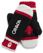 HBC Canadian Olympic Team Collection Canada Red Mittens Adult