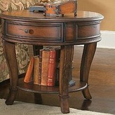 Hooker Furniture Brookhaven 4 Legs End Table with Storage