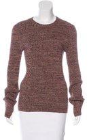 Apiece Apart Long Sleeve Crew Neck Sweater
