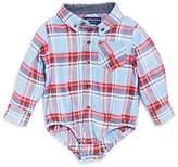 Andy & Evan Boys' Plaid Flannel ShirtzieTM Bodysuit - Baby