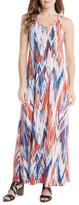 Karen Kane Women's Tasha Print Jersey Maxi Dress