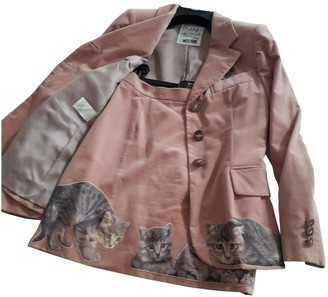 Moschino Cheap & Chic Moschino Cheap And Chic Pink Velvet Jacket for Women Vintage