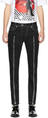 Nomenklatura Studio Black Zipper Jeans