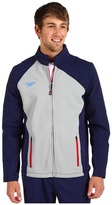 Speedo Americana Warm Up Jacket (Navy/Grey) - Apparel