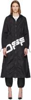 Off-White Off White Black Logo Coulisse Jacket