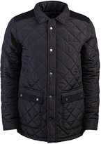 Pierre Cardin Mens New Season Quilted Zip Through Jacket with Corduroy Trim