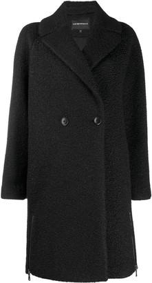 Emporio Armani Single-Breasted Coat