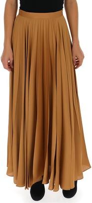 The Row Pleated Maxi Skirt