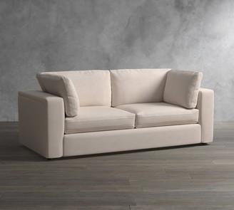 Pottery Barn PB Air Square Arm Upholstered Sofa