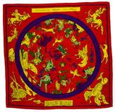 Hermes Zodiaque Cashmere Silk Shawl w/ Tags