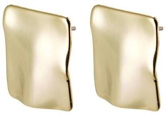 Pilgrim Earrings : Water : Gold Plated