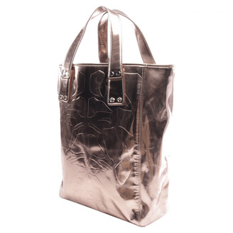 Alexander McQueen Metallic Leather Handbags