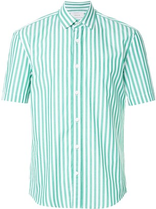 Cerruti Short Sleeved Stripe Shirt