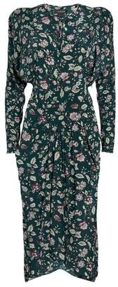 Isabel Marant Paisley Kelky Midi Dress