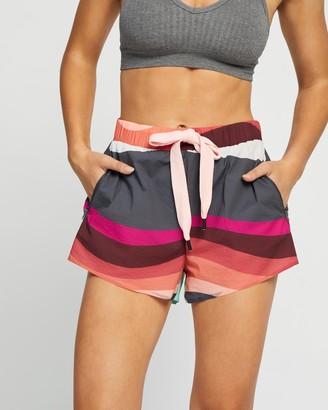 The Upside Women's Multi Shorts - Sunset Efrem Shorts - Size M at The Iconic