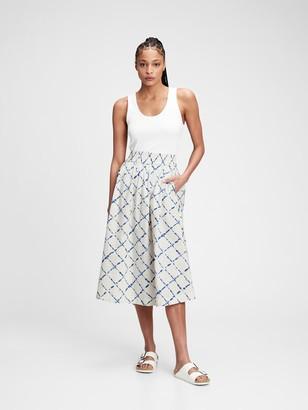 Gap Pull-On Midi Skirt