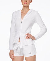 """Betsey Johnson The Bride"""" Terry Hoodie"""