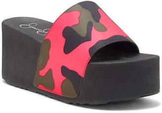 Jessica Simpson Faille Slide Sandals Women Shoes