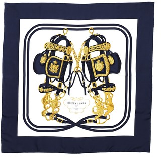 Hermes Brides de Gala Scarf Printed Silk 90