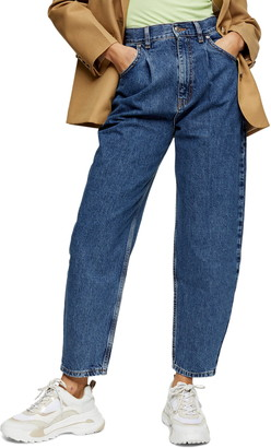 Topshop Balloon Tapered Jeans