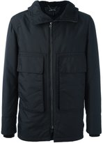 Helmut Lang hooded padded jacket