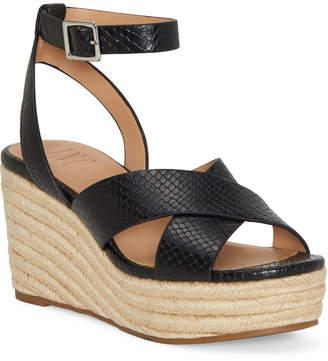 INC International Concepts Inc Women Lemona Crisscross PlatForm Wedges, Women Shoes