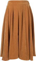 CITYSHOP high-waisted pleated skirt