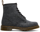 Dr. Martens Black Canvas 1460 Boots